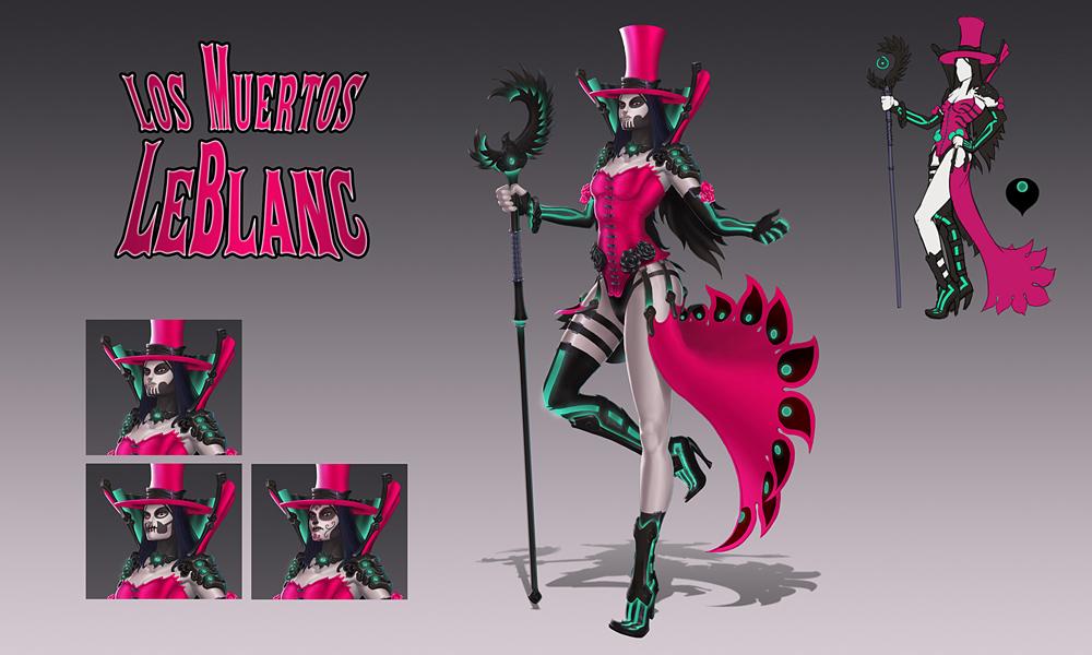 Concepto de Los Muertos LeBlanc por Sunny Koda 452eca1fc42